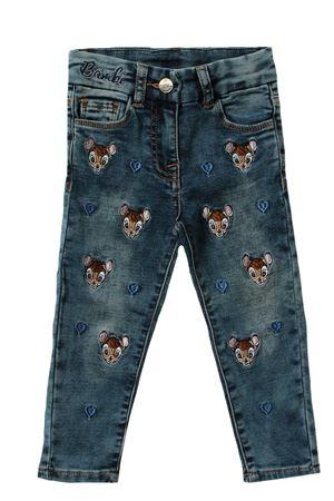 Cotton jeans MONNALISA | 24 | 198415RH80160055