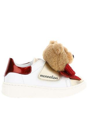 Leather sneakers MONNALISA | 20000049 | 8C80208F030172