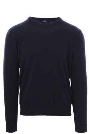 Girocollo in lana e cashmere N&L   -161048383   12301-LCBLU