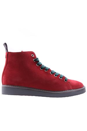 Ankle boot suede lined faux fur PANCHIC | 5032297 | P01M1400200006E01T11