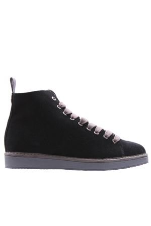 Ankle boot suede lined faux fur PANCHIC | 5032297 | P01W1400200006Z99V01