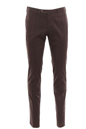 Stretch cotton pants PT | 5032272 | CPDT01Z00PRINK03180