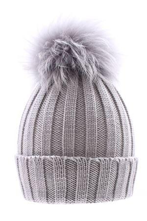 Cappello costa con pompon fox REGINA | 5032304 | 10599XALLUMINIO
