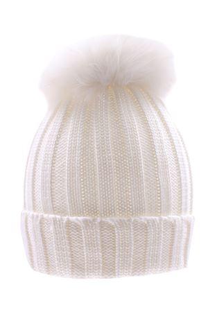 Cappello costa con pompon fox REGINA | 5032304 | 10599XBIANCO