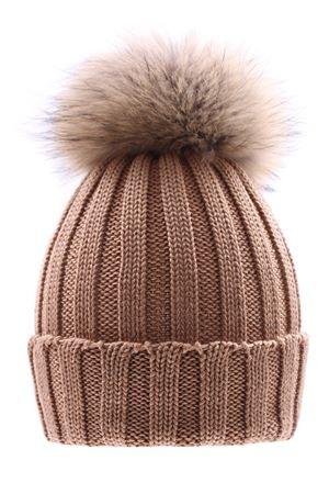Cappello costa con pompon fox REGINA | 5032304 | 10599XCAMMELLO