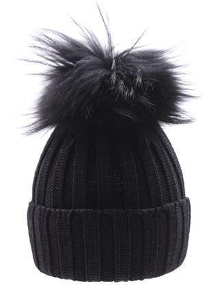Cappello costa con pompon fox REGINA | 5032304 | 10599XNERO