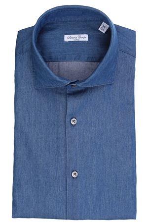 Camicia in denim light SARTORIA CAMPO | 5032279 | DENIM802