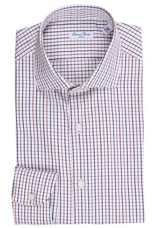 Camicia quadretti in twill di cotone SARTORIA CAMPO | 5032279 | GH47404