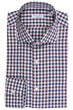Camicia quadretti in flanellina di cotone light SARTORIA CAMPO | 5032279 | GH47703