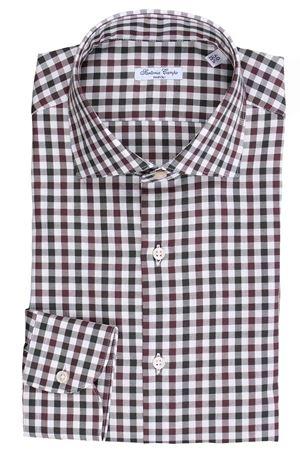Camicia quadretti in flanellina di cotone light SARTORIA CAMPO | 5032279 | GH47705