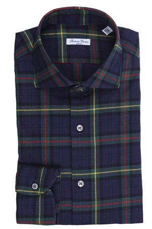 Camicia tartan british in flanella di cotone light SARTORIA CAMPO | 5032279 | GHE43002