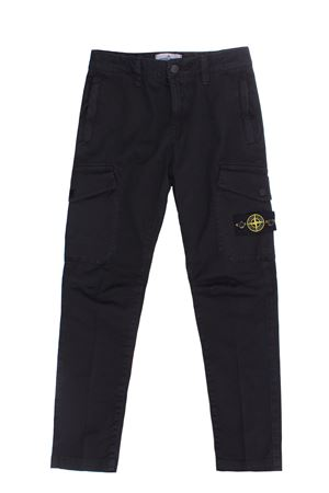 Pantalone cargo in cotone stretch STONE ISLAND | 5032272 | 751630311V0129