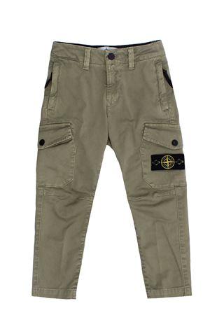 Pantalone cargo in cotone stretch STONE ISLAND | 5032272 | 751630311V0155