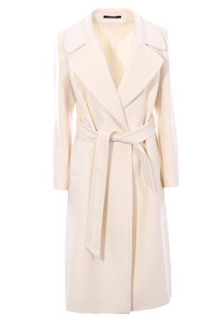 Cappotto in lana con cintura TAGLIATORE | 5032278 | MOLLYA50017UX1239