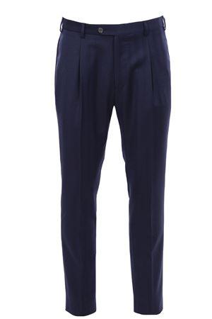 Pantalone spinato in flanella light TOMBOLINI | 5032272 | PSLZIHCPR780