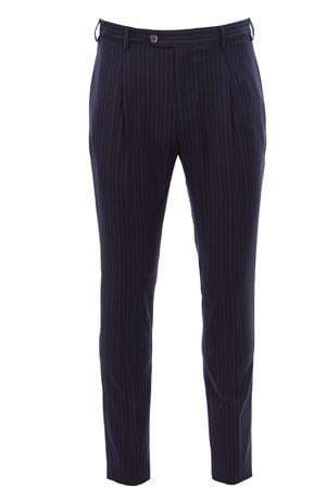 Pantalone gessato in flanella light TOMBOLINI | 5032272 | PSLZIHDQR780