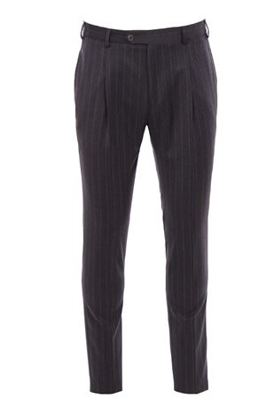 Pantalone gessato in flanella light TOMBOLINI | 5032272 | PSLZIHDQR880