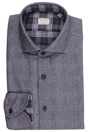 Double print cotton shirt XACUS | 5032279 | 91529ML748002