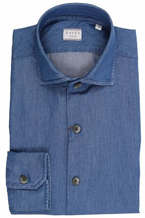 Cotton denim shirt XACUS | 5032279 | 91751MLBC748733