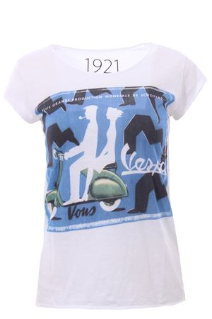 T-shirt with print 1921 | 8 | 007-D-SAVIGNAC04