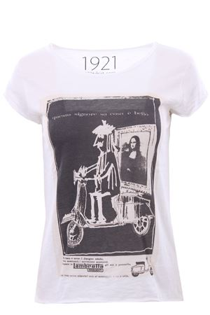 T-shirt with print 1921 | 8 | 007-D-SAVIGNAC18