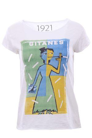 T-shirt with print 1921 | 8 | 007-D-SAVIGNAC37