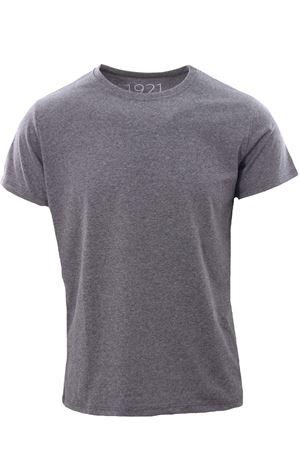 Cotton t-shirt 1921 | 8 | 007GRIGIO