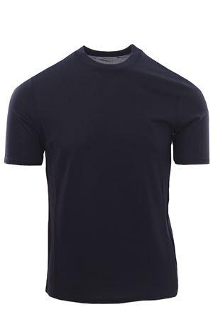 T-shirt in piquet di seta e cotone ALPHA | 8 | AU4450/C1253