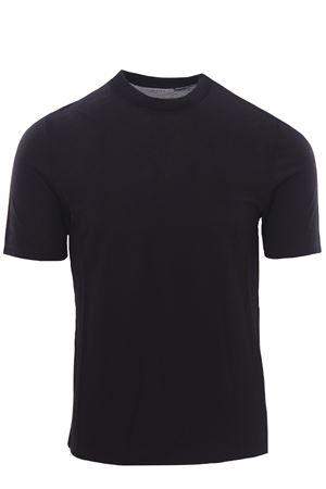 T-shirt in piquet di seta e cotone ALPHA | 8 | AU4450/C1254