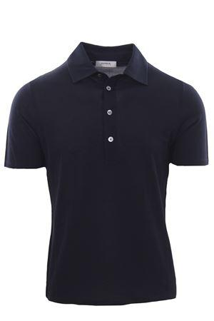 Polo camicia in piquet di seta e cotone ALPHA | 2 | AU4452/B1253