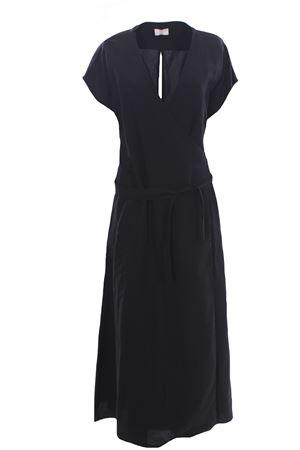 Long viscose and linen dress ALTEA | 5032276 | 205650590R
