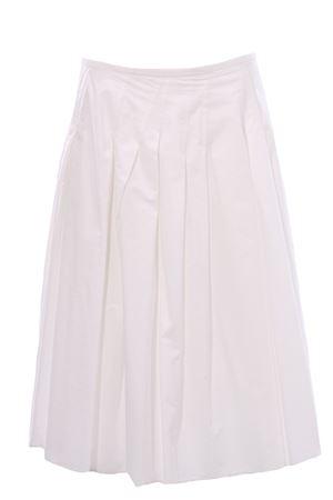 Cotton skirt ALYSI | 5032307 | 101001P1019BIANCO