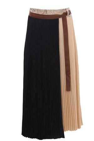 Wrap skirt ALYSI | 5032307 | 101018P1032NEROPELLE
