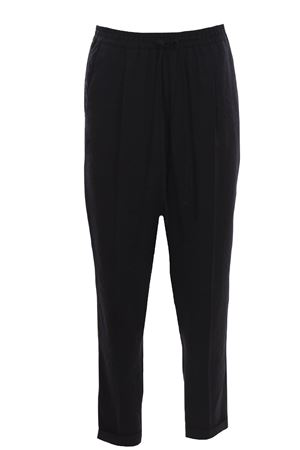 Pantaloni in modal con coulisse ALYSI | 5032272 | 101107P1052CARBONE