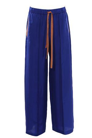 Silk pants ALYSI | 5032272 | 101122P1006ZAFFIRO
