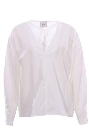 Cotton tunic ALYSI | 5032279 | 101209P1019BIANCO
