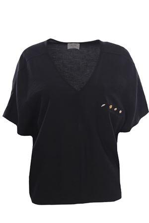 V-neck tunic ALYSI | 5032279 | 101233P1043NERO