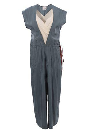 V-neck jumpsuit ALYSI | 5032276 | 101362P1234ROSMARINO