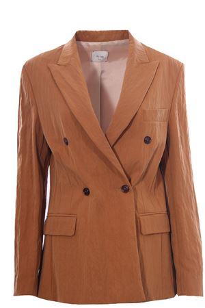 Double breasted jacket ALYSI | 5032284 | 101801P1027CARAMELLO
