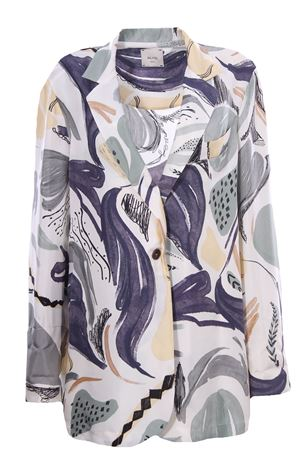 Silk jacket ALYSI | 5032284 | 101805P1033SALVIA
