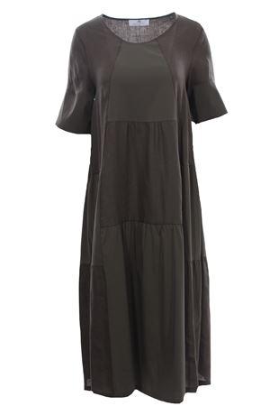 Bimateric linen dress ANNA SERRAVALLI | 5032276 | S1108147
