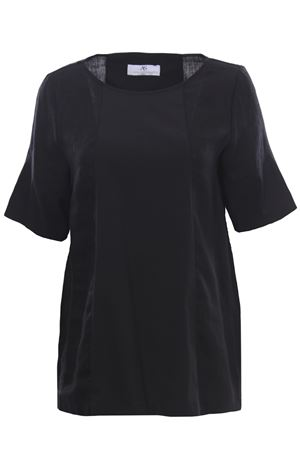 Bimateric linen tunic ANNA SERRAVALLI | 5032279 | S1118000
