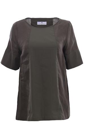 Bimateric linen tunic ANNA SERRAVALLI | 5032279 | S1118147