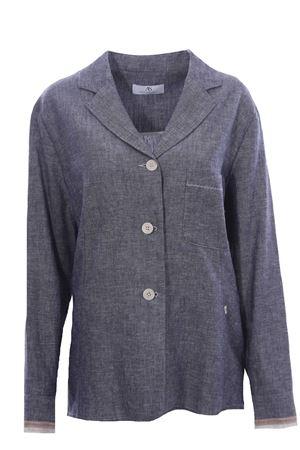 Giacca camicia in lino  ANNA SERRAVALLI | 5032284 | S1140A191