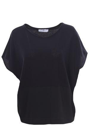 Bimateric sleeveless crew neck ANNA SERRAVALLI | -161048383 | S1185000