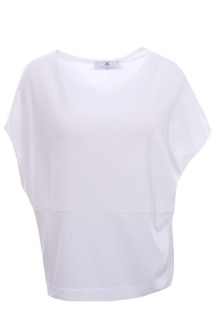 Bimateric sleeveless crew neck ANNA SERRAVALLI | -161048383 | S1185002