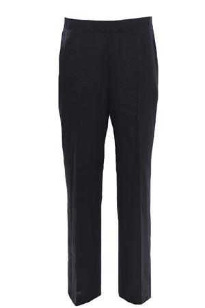 Pantaloni gamba larga in lino ANNA SERRAVALLI | 5032272 | S802A000