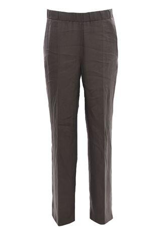 Pantaloni gamba larga in lino ANNA SERRAVALLI | 5032272 | S802A147