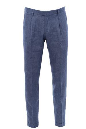 Pantalone in lino BRIGLIA | 5032272 | BG07S32111861