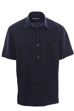 Camicia over in tela di lana stretch BRIGLIA | 5032279 | CHIATAMONE32112011